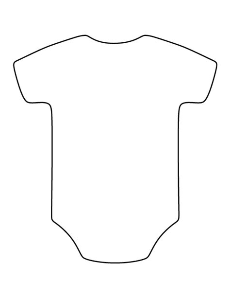 Printable Onesie Template