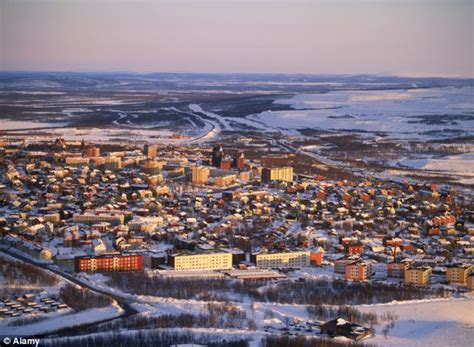 Car Plans by Swedish City Of Kiruna Forced To Move Two Miles After