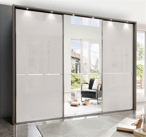 sliding glass wardrobes stylform nyx 250 400cm glass mirrored sliding wardrobe