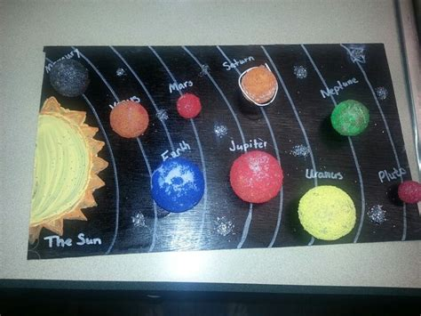 solar system craft projects solar system project craft ideas solar