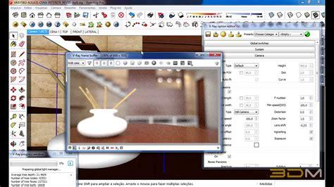 vray sketchup dof tutorial tutorial plano focal no v ray