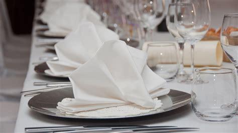 servietten festlich falten servietten falten zur hochzeit ekitchen