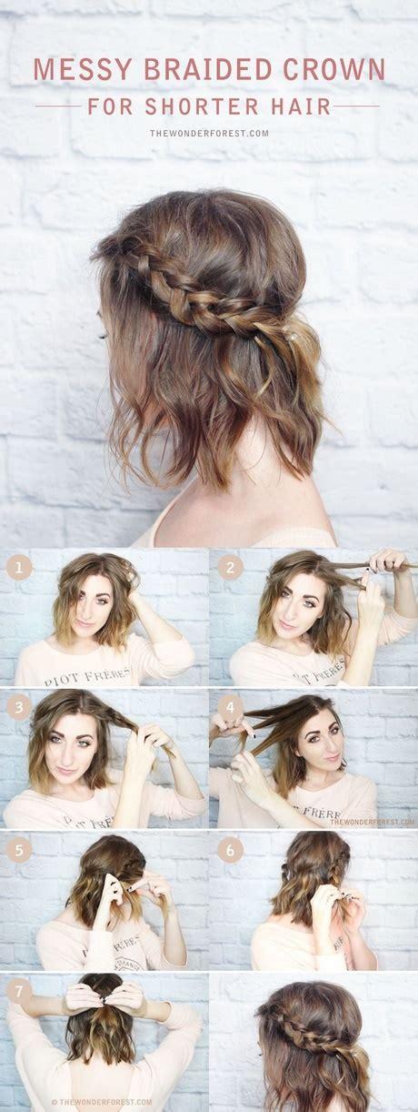 diy hairstyles with short hair diy hairstyles for short hair