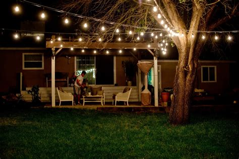 Decorative Patio String Lights by Lightshare Light Up The Outdoor Patio Or Porch With