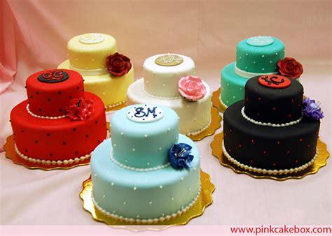 Bridesmaid's Mini Cakes » Celebration Cakes