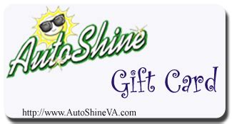 autoshine full service car wash radford virginia - Drive And Shine Gift Cards
