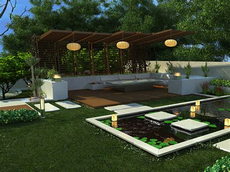 outdoor landscaping ideas backyard outdoor and gardening designs lotus backyard pool