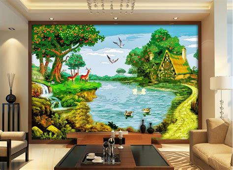 Farm Wall Mural popular farm murals buy cheap farm murals lots from china