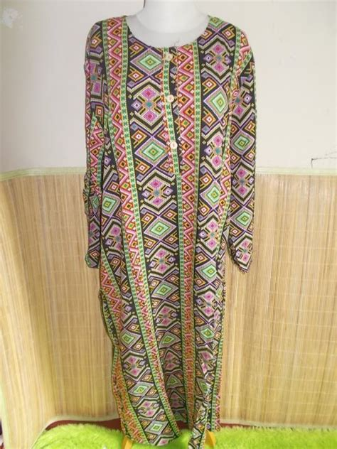 Dress Batik Big Kencana longdress kencana ungu jumbo hitam kembar batik dress
