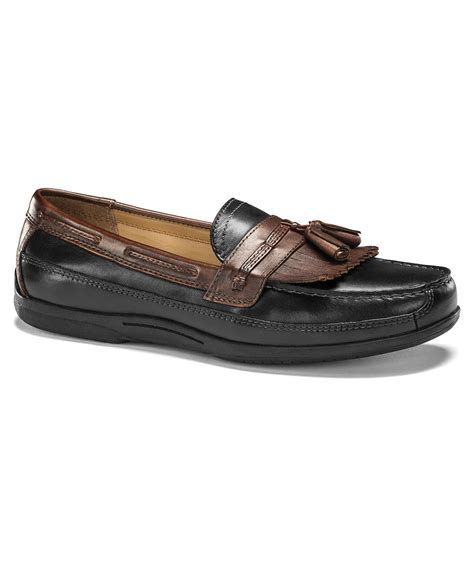 dockers s loafers dockers s hamlin loafers shoes in black for lyst