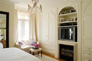 built ins for bedroom bedroom fireplace and tv transitional bedroom mcgill design group