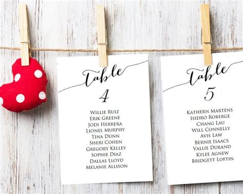 table seating cards table seating cards template 1 40 wedding seating chart