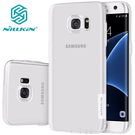 Best Casing Hp Samsung Nillkin Nature Tpu Softcase Galaxy S8 Plus tpu transparent soft for samsung galaxy s6 s7 edge nillkin nature series luxury brand with
