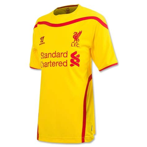 14 15 liverpool away soccer jersey liverpool
