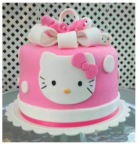 Home Made Cake Decorations by Bits N Bytes Hello Kitty Cake And Cupcakes