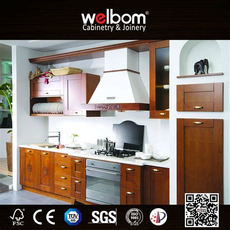 walnut color kitchen cabinets color solid wooden walnut kitchen cabinets buy