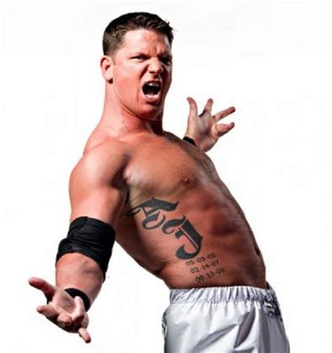 aj styles tattoo black tribal on matt bloom chest and half sleeve