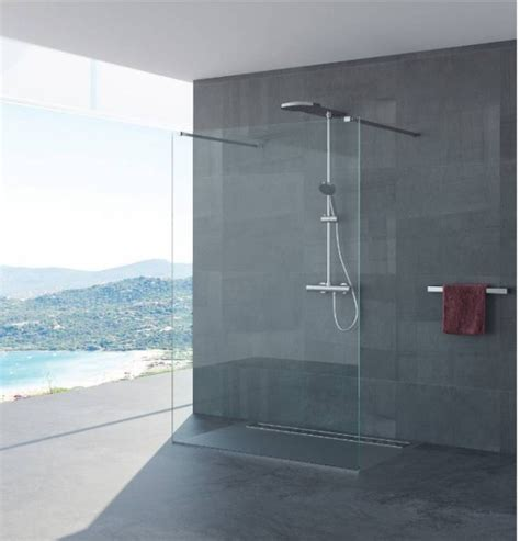 parete vetro doccia parete doccia vetro senza profili quot antonella quot