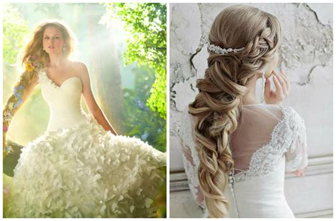 Wedding Hairstyles For Princess Dresses by 2 Princess Rapunzel Wedding Hair Style Weddings