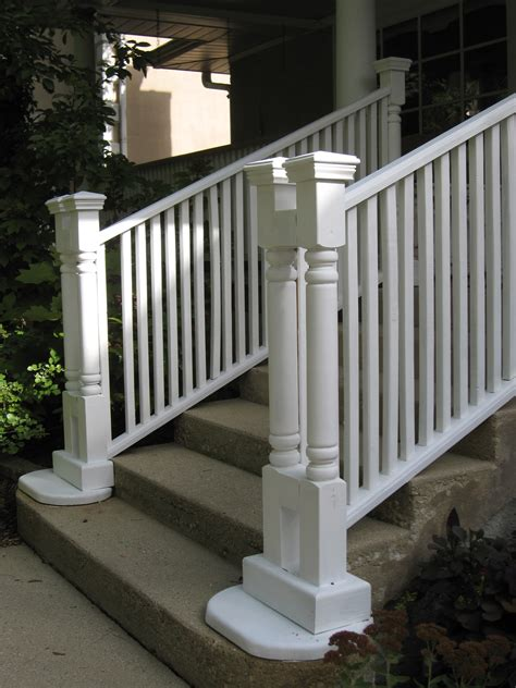 river forest stairs after paint view 1 woods home