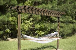 Pergola Hammock Stand Plans 15 diy hammock stand to build this summer home and