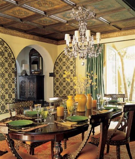 european style dining room tuscan style homes interior