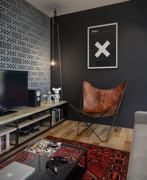 www home designing com cinder block wall interior design ideas