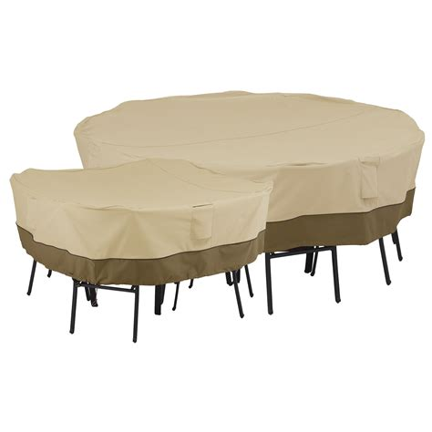 Cover For Patio Table And Chairs Classic Accessories 55 228 011501 00 Veranda Patio Square Table And Chairs Cover
