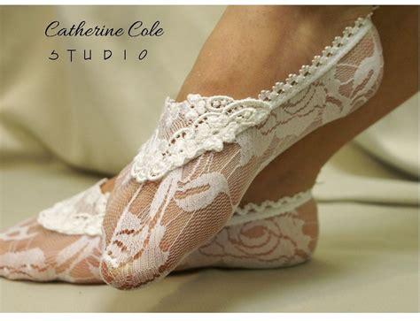 braut pantoffeln lace socks love sewing pinterest schuhe