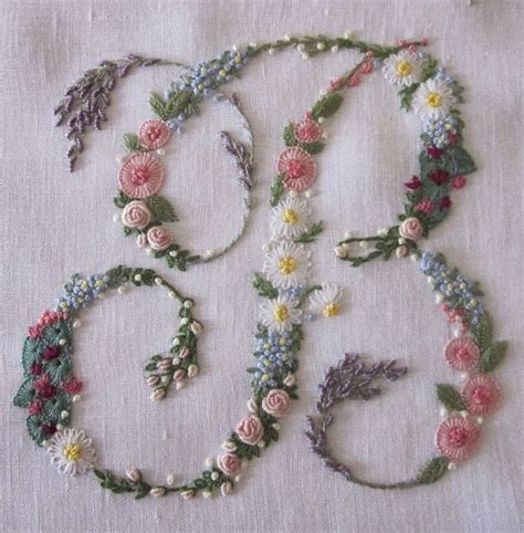 Handmade Embroidery - best 10 embroidery letters ideas on