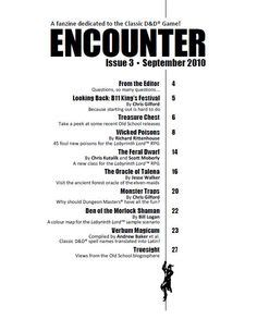 encounter issue 3 table of contents h this particular