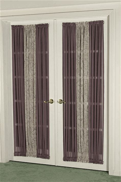 privacy curtains for french doors designer series custom curtains for french doors
