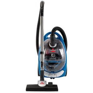 shop bissell bagless canister vacuum at lowes