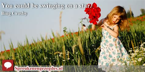 you could be swinging on a star you could be swinging on a star bing crosby engelse