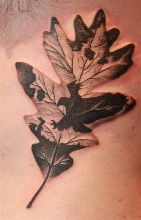 oak tree tattoo best 25 oak leaf tattoos ideas on white oak