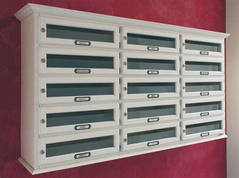 cassette postali condominiali normativa cassetta postale in legno classic orizzontale ravasi