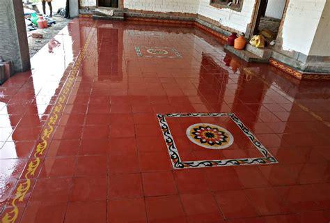 pin  suya chandar  athangudi tiles village house