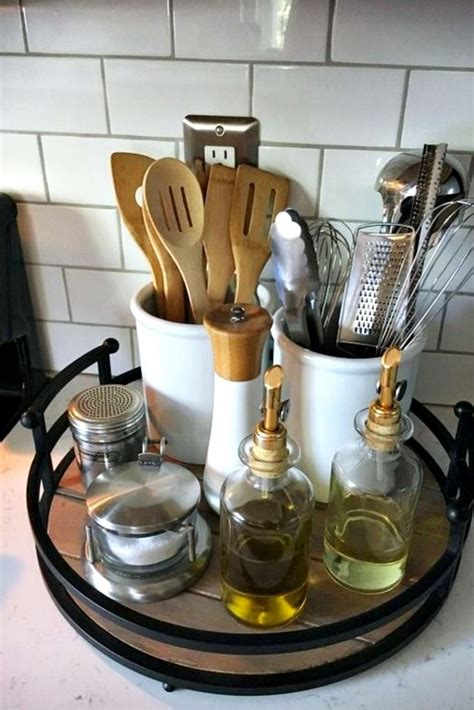 Kitchen Utensil Holder Ideas Farmhouse Kitchen Ideas On A Budget Involvery Community Blog