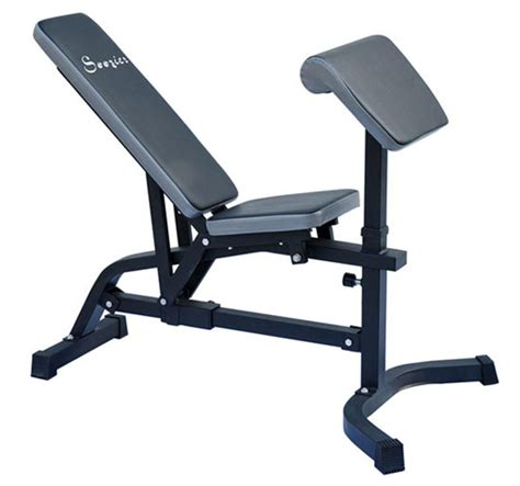 utility workout bench soozier incline flat adjustable exercise fitness workout