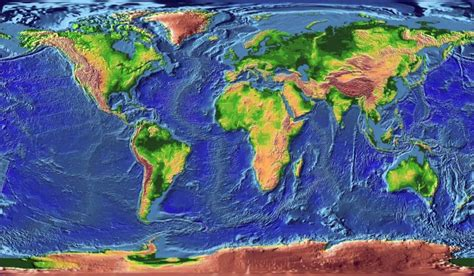 topographic map of the world seajester topographic map world and floor