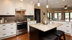 white kitchen cabinets with espresso island quicua com