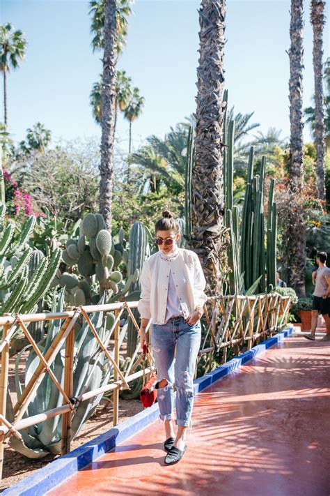 le jardin majorelle marrakech yves laurent garden