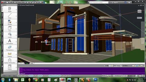 home design 3d two storey proposed 2 storey residential house autocad 3d cad model grabcad