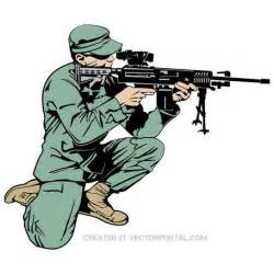 soldier with rifle vector eps clip art clipart me