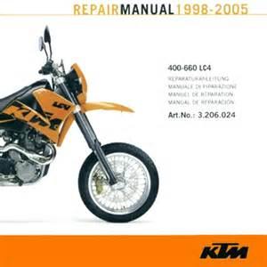 Ktm Manual Ktm 2008 2005 Lc4 Service Manual 3206024 Ktmtwins