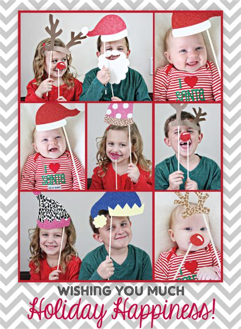 christmas photo booth ideas diy santa s photobooth cards