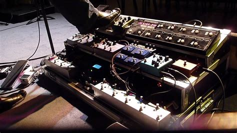 tutorial guitar effects gear rig pedalboard update ambient guitar effects