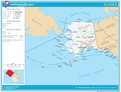 printable road map of alaska alaska state maps interactive alaska state road maps