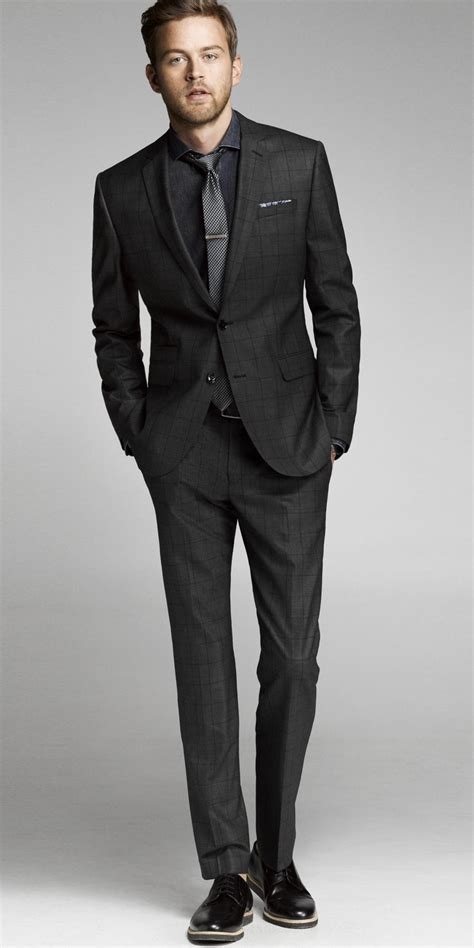 Slim Allblack New Arrival mens black suit go suits