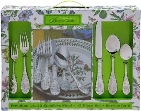Portmeirion Botanic Garden Flatware Portmeirion Botanic Garden 45 Flatware Set Lowest Smart Water New